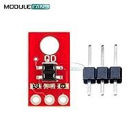 DC 3.3V 5V QRE1113センサーデジタルリニアブレイクアウトボードIR LED赤外線反射センサーモジュールコンデンサ放電回路