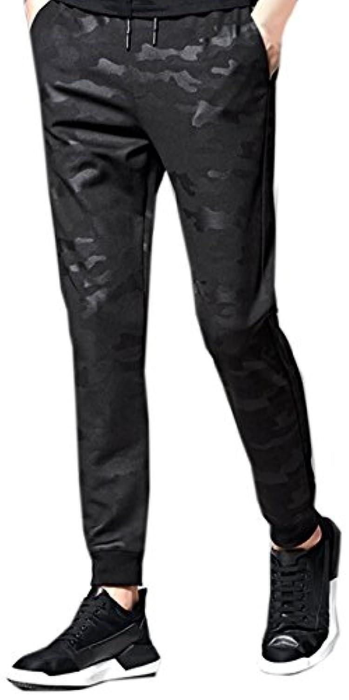 (シャンディニー) Chandeny 迷彩柄 ジョガーパンツ スリム ロング パンツ メンズ スポーツ トレーニング ジム 23628