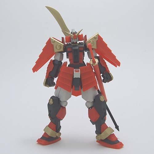 Gundam series equestrian warrior Den realistic type figure 1 to warrior Š�'� Yikes single item: warrior Š�'� バンプレスト