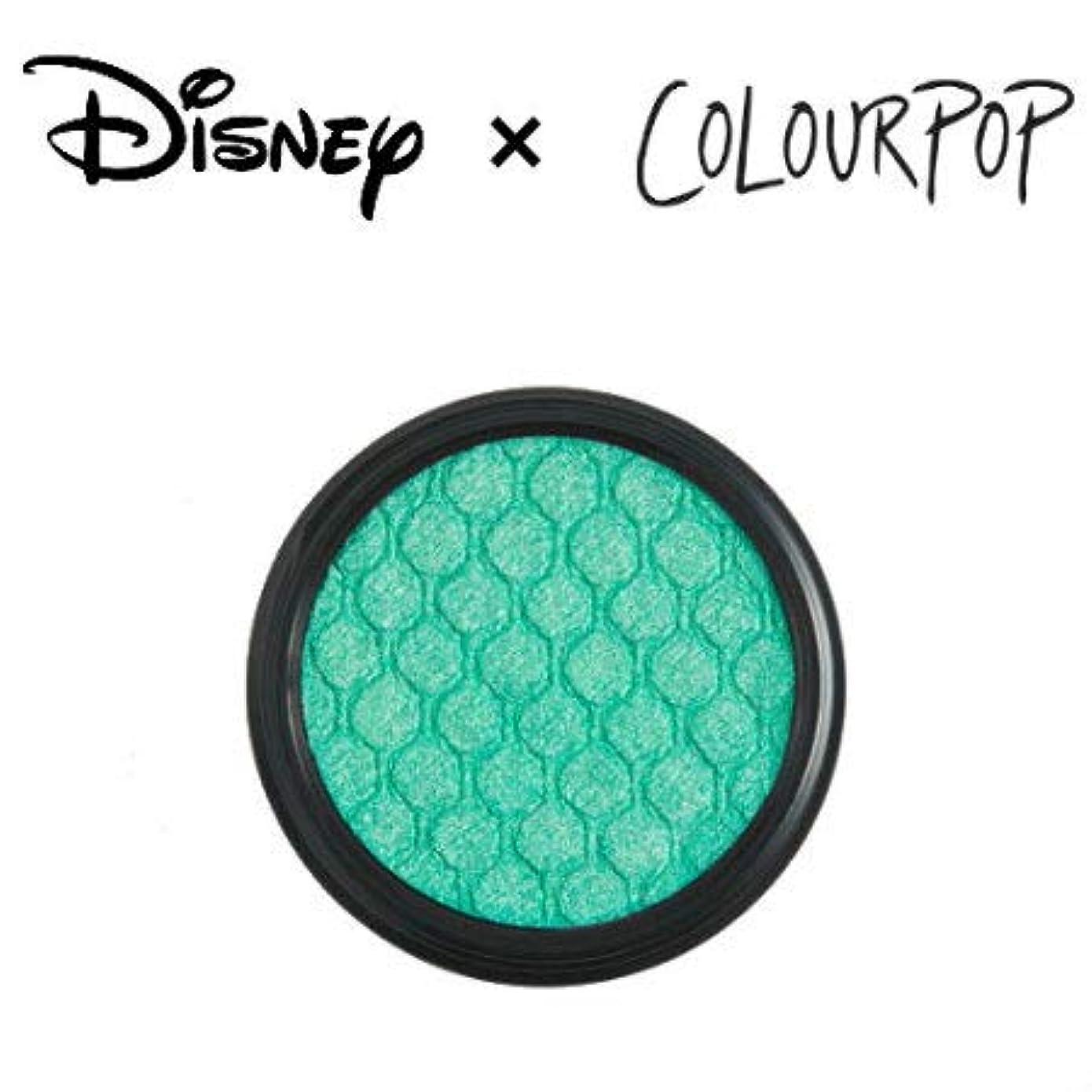 恐ろしい争う普遍的なカラーポップ COLOURPOP x DISNEY ディズニー プリンセス アイシャドウ UNDER THE SEA(シーグリーン)