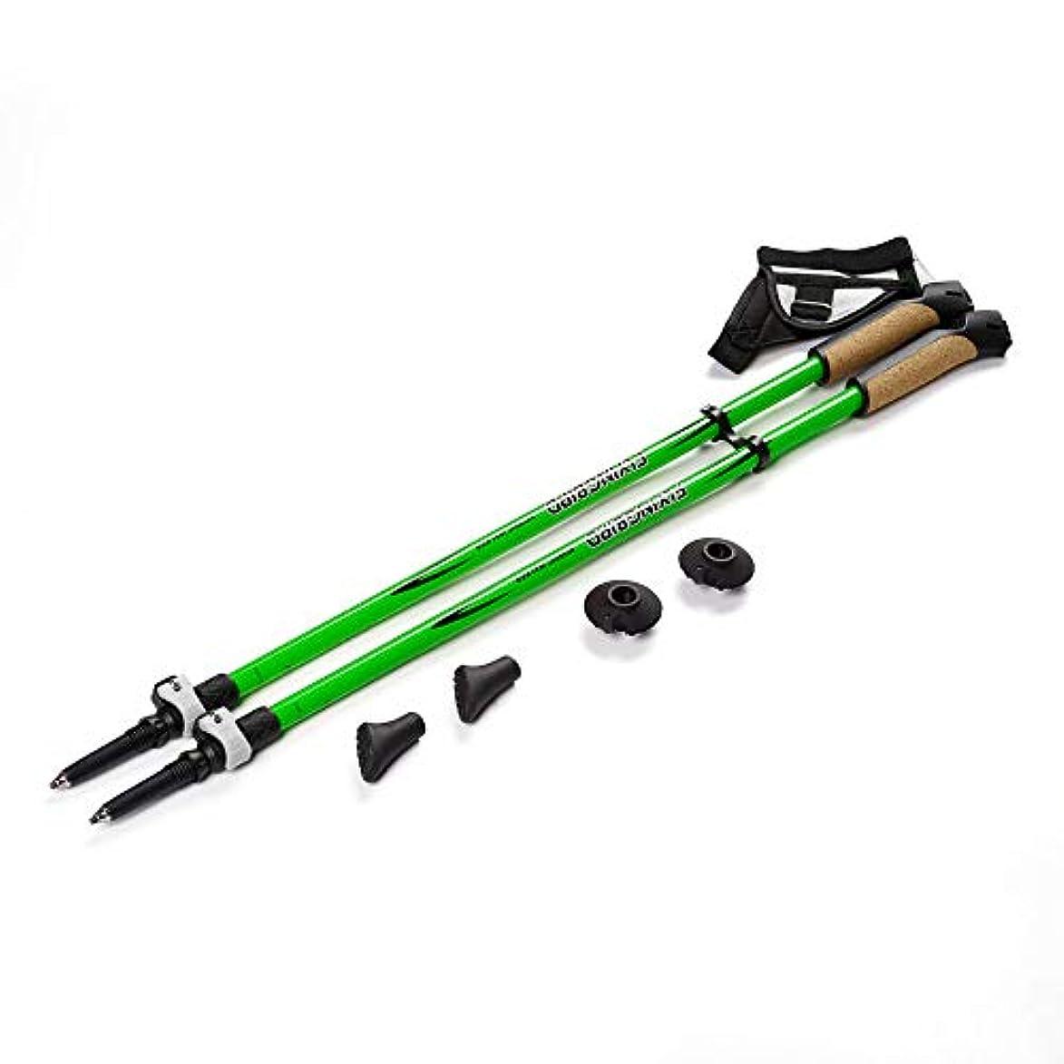 衣類財布欠如屋外の超軽量炭素繊維引き込み式ロッククライミング/杖