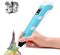 Crespire 3D Pen with PLA filament Intelligent 3D Printing Pen with LCD ScreenCreative Gift for Children and Adult Toys for Study and Design [並行輸入品]