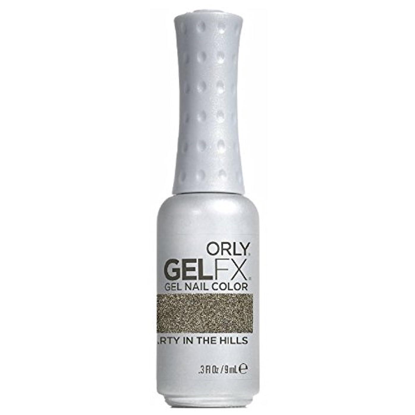 三角北へ生き残りますOrly GelFX Gel Polish - Party in the Hills - 0.3oz / 9ml