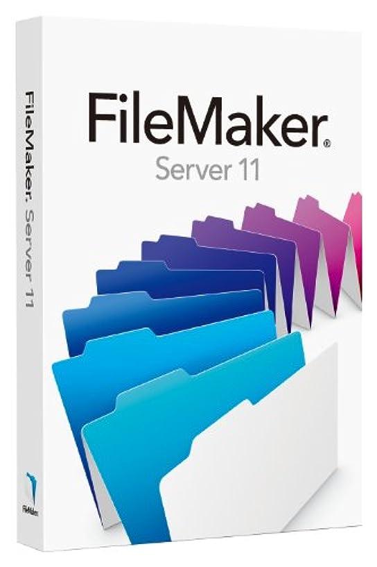 民主党雄弁な曲げるFileMaker Server 11