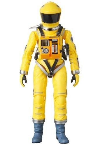 2001年宇宙の旅 アクションフィギュア MAFEX SPACE SUIT(YELLOW Ver.) 宇宙飛行士 アストロノーツ スタンリーキューブリック