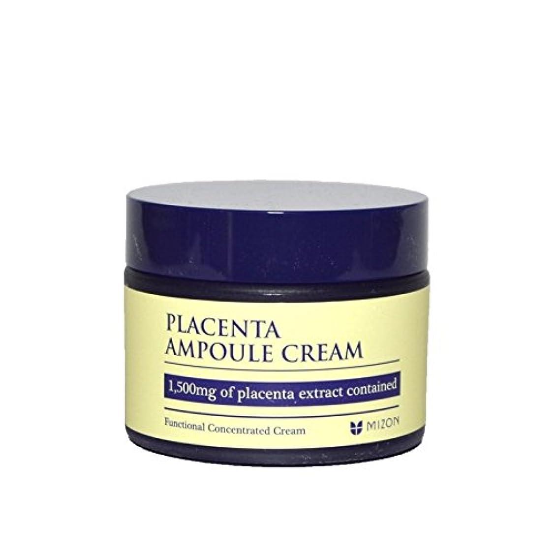 利用可能世界的に音声学胎盤アンプルクリーム x2 - Mizon Placenta Ampoule Cream (Pack of 2) [並行輸入品]
