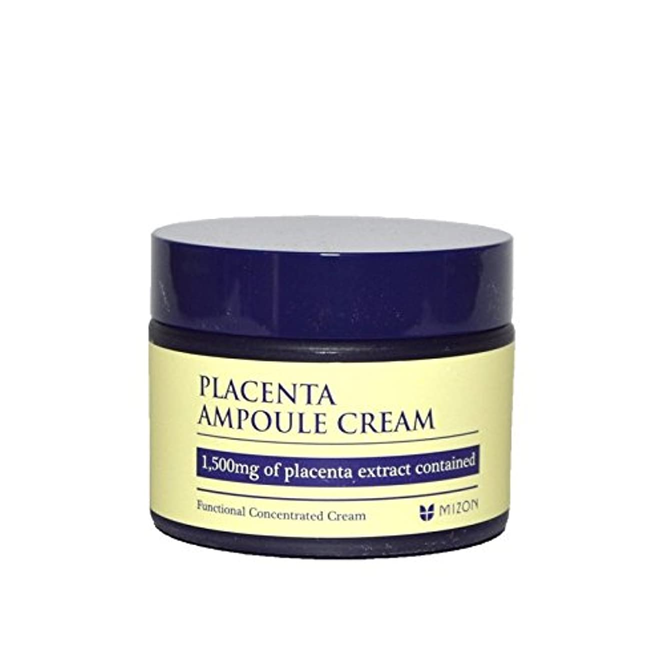 笑レーダー通常Mizon Placenta Ampoule Cream (Pack of 6) - 胎盤アンプルクリーム x6 [並行輸入品]