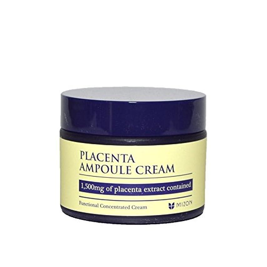 練るに対応反応するMizon Placenta Ampoule Cream - 胎盤アンプルクリーム [並行輸入品]