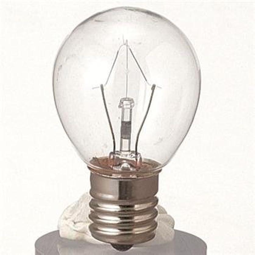 前方へブラケット打たれたトラック生活の木 アロマランプL用 電球[25W]
