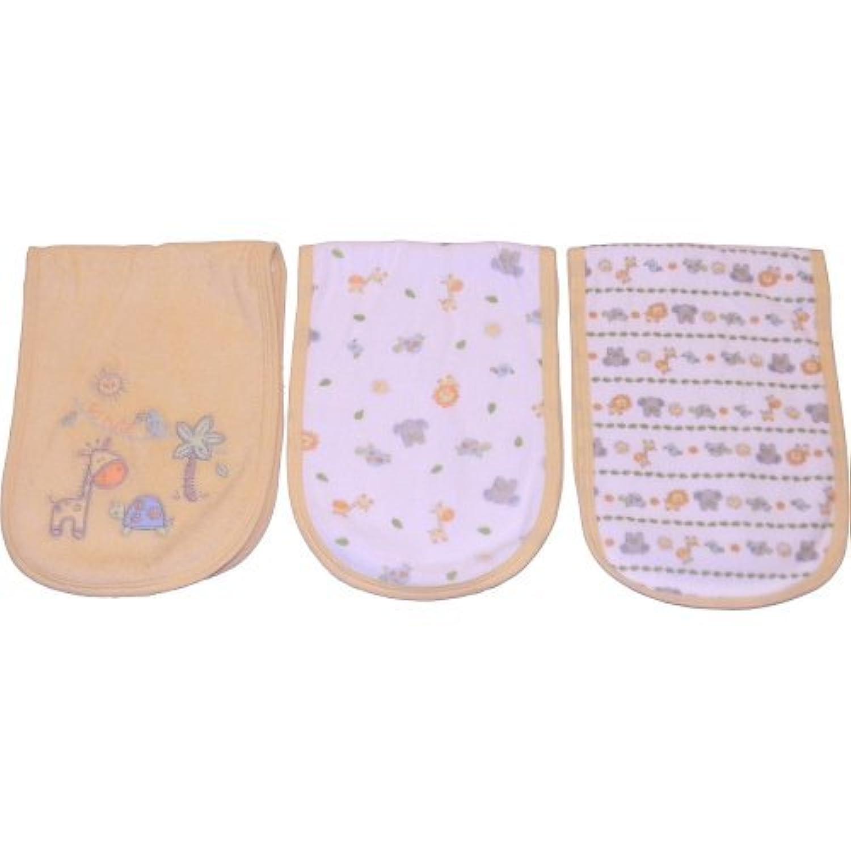 Babies R Us Neutral 3Pk Terry Burpcloth by Babies R Us [並行輸入品]