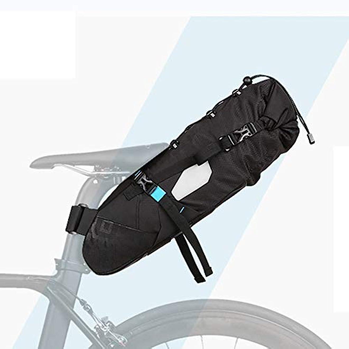 粒子大学院ラッドヤードキップリング自転車テールバッグ、防水大容量リアシートバッグマウンテンバイクバッグビッグテール
