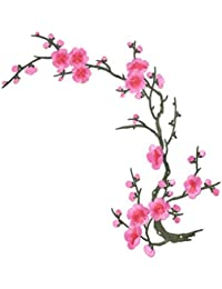 SONONIA 刺繍パッチ 飾り パッチ レース 花柄 アップリケ 縫製用品 刺繍飾り 工芸品 全7色 - パターン6