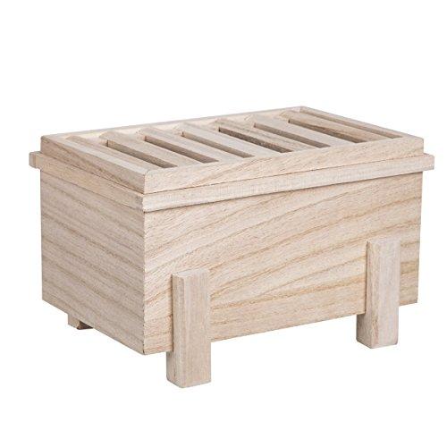 [DITTO MARK] 温かみのある天然素材を使用した賽銭箱型の「貯金箱」 お部屋のワンポイントにも