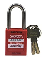 STAINLESS STEEL SHACKLE SAFETY PADLOCK