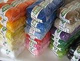 【ハマナカ】アクリル毛糸HM極太 色番:10ブルー x5玉単位 (ホビーメイク)(アクリルたわしに好適)