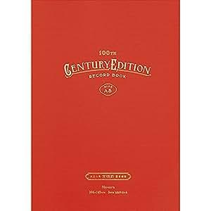 コクヨ 装丁ノート RECORD BOOK Century Edition 方眼罫 橙 HG-C100S-YR