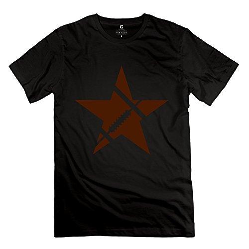 永航 男装 アメリカンフットボール スター Football Star カスタマイズするシャツ 半袖 カジュアル