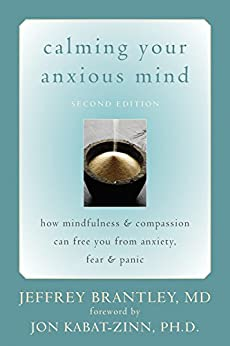 Calming Your Anxious Mind: How Mindfulness and Compassion Can Free You from Anxiety, Fear, and Panic by [Brantley, Jeffrey]