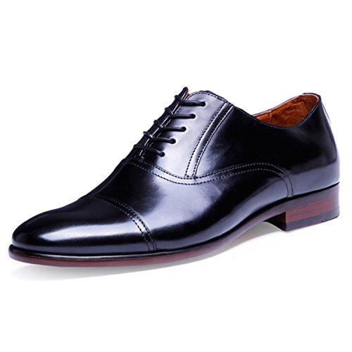 (デザート)Dessert ビジネスシューズ 紳士靴 メンズ 本革 ストレートチップ  ブラック 24CM