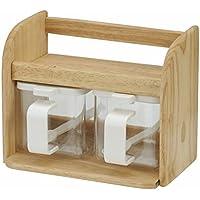 レック DELI 木製 クッキングボックス (2) 調味料入れ K-956