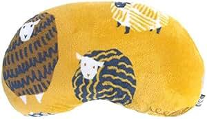 ダイカイ(DAIKAI) クッション 羊 イエロー 46×27cm コージー Cozy 豆型クッション 72407