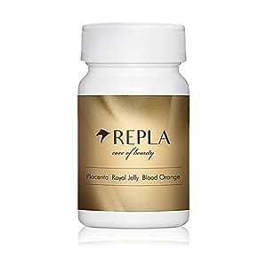 REPLA リプラ 馬プラセンタ ローヤルゼリー ブラッドオレンジエキス 厳選配合 大容量 90粒
