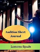 Audition Sheet Journal
