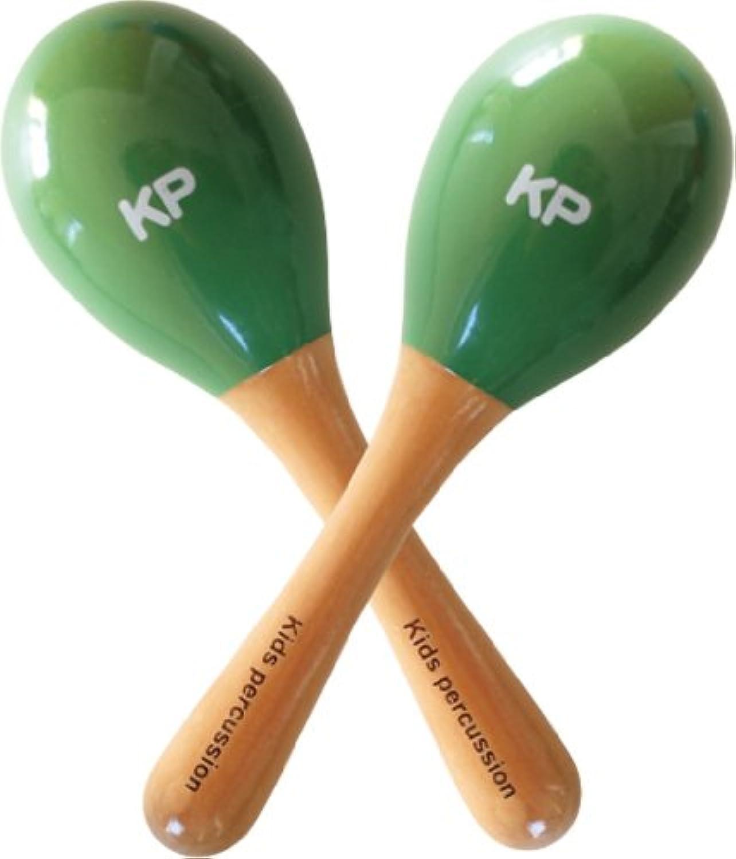 キッズパーカッション ミニマラカス グリーン KP-120/MM/GR