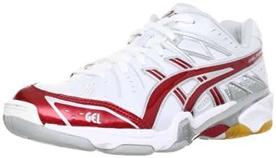 [アシックス] バレーボールシューズ GELFORZA 5 LO TVR462(旧モデル) 0123ホワイト/レッド 30.0 2E