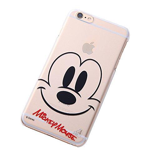 レイ・アウト iPhone6 Plus(5.5インチ)用 ディズニー・クローズアップ・シェルジャケット ミッキーマウス RT-DP8K/MK