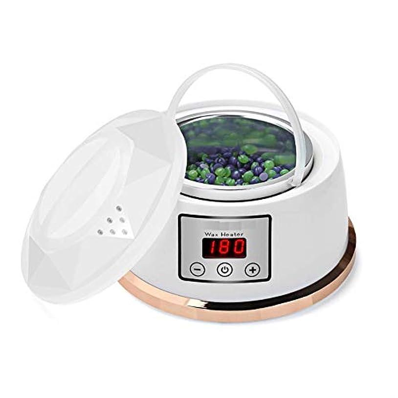 重要性一般的に言えばブルーベルワックスウォーマー脱毛ワックスキット一定温度設定電気パラフィンワックスヒーターポット4風味ワックス豆