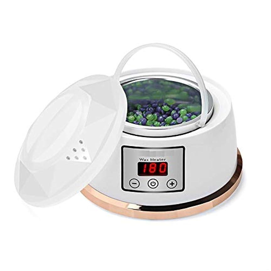 メタリックシリングアンソロジーワックスウォーマー脱毛ワックスキット一定温度設定電気パラフィンワックスヒーターポット4風味ワックス豆