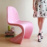 PANTONE CHAIR(パントンチェア・艶あり・Premium)ピンク色        【デザイナー:ヴェルナー・パントン】【ダイニングチェア】【プラスチック】【椅子】【デザイナー家具】【高品質】【低価格】【プラスチック】【エクステリア】【リプロダクト】【ジェネリック】