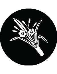家紋シール 値引水仙紋 布タイプ 直径40mm 6枚セット NS4-2206
