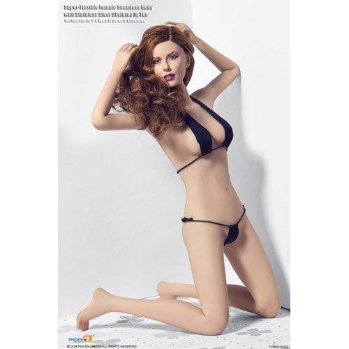 1/6 スーパーフレキシブル女性素体 (ライトタンスキン) Middle Breast w/ Bikini PLMB2014-S02