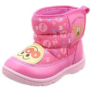 [アンパンマン] ベビーシューズ 撥水 ブーツ ゆったり 軽量 ベビー APM B26 ピンク 12 cm 2E