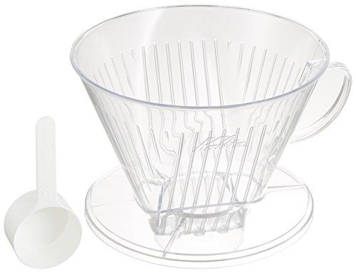 (カリタ) カリタ ポリカーボネイト樹脂製コーヒードリッパー(7~12人用) 104-D #07001