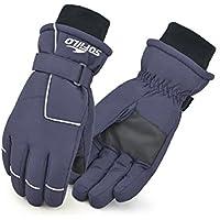 のみFaithファッションメンズ冬Skidproof防水スキーサイクリングバイク手袋