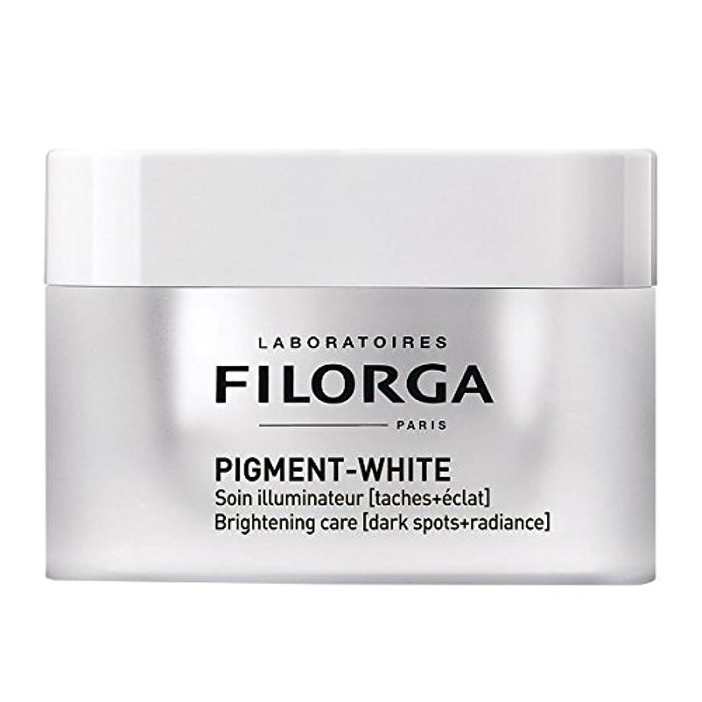 紳士バラ色ゆでるFilorga Pigment-white 50ml [並行輸入品]