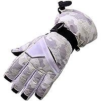 冬の防風防水スキー手袋スキーウェアスポーツグローブ、E