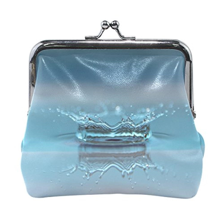 がま口 財布 口金 小銭入れ ポーチ 雨しずく Jiemeil バッグ かわいい 高級レザー 好評 買い得 レディース プレゼント ほど良いサイズ