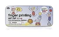 (Circus Animals) - NPW-USA Finger Printing Art Set In Tin Circus Animals Arts and Crafts Kit
