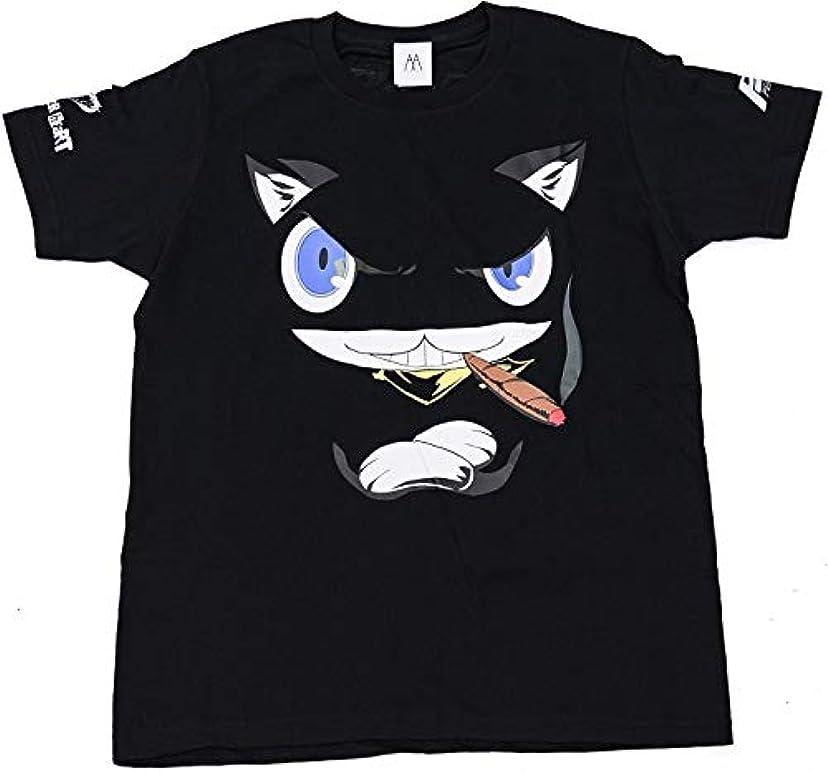 確執失効コンソールペルソナ5 モルガナフェイスデザインTシャツ XXL【グッズ】