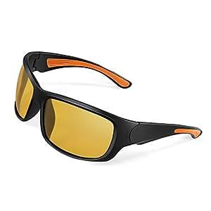 偏光サングラス Alloyseed スポーツグラス 偏光レンズグラス 偏光メガネ 超軽量 TR90フレーム UV400カット キャンプ/釣り/花見/運動会/自転車/運転/など応用 保護ケース付き