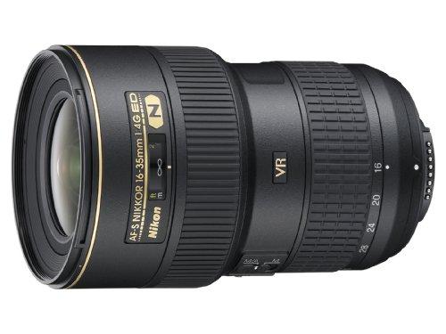 Nikon 超広角ズームレンズ AF-S NIKKOR 16-35mm f/4G ED VR フルサイズ対応