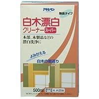 アサヒペン 白木漂白クリーナースーパー 500ML
