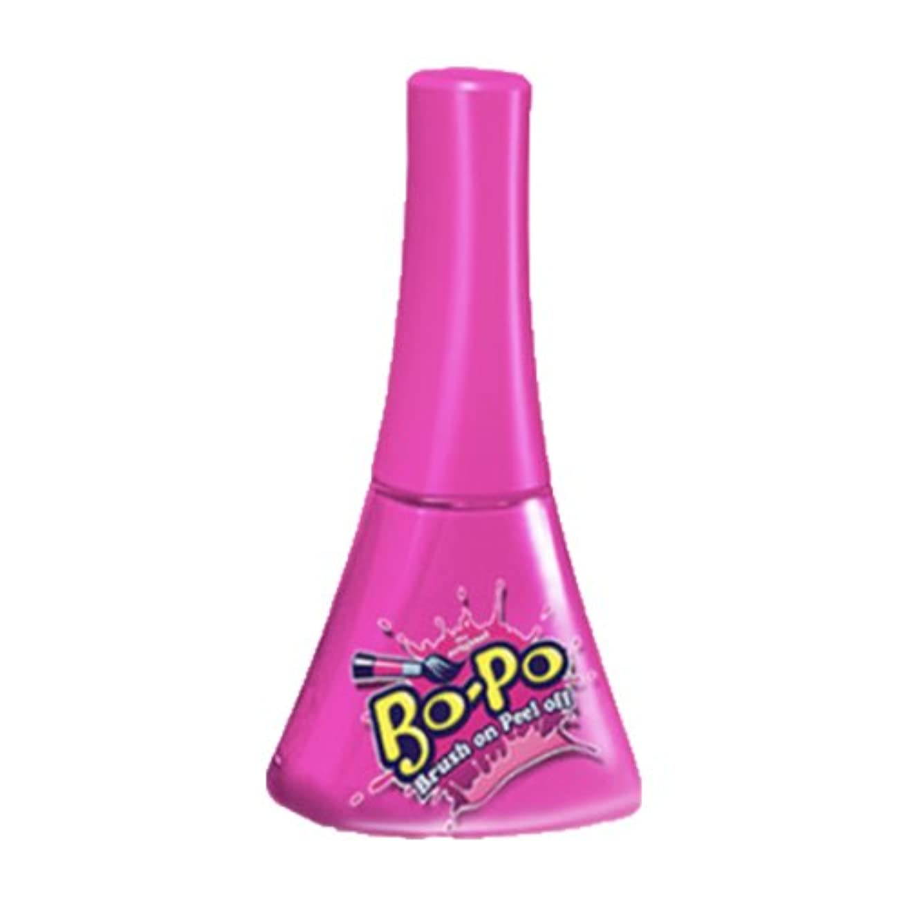 カロリーシソーラス子bopo 子供用 マニキュア ネイルマニキュア 全9種類 剥がすタイプ (Bubble Gum(ホットピンク))
