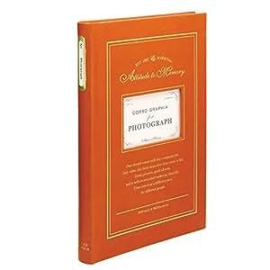 マークス ベーシックアルバム・150ポケット/コルソグラフィア[L判サイズ・150枚収納]/オレンジ CG-BAL4-OR