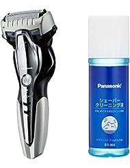 パナソニック ラムダッシュ メンズシェーバー 3枚刃 お風呂剃り可 シルバー調 ES-ST6Q-S + シェーバークリーニング液 セット