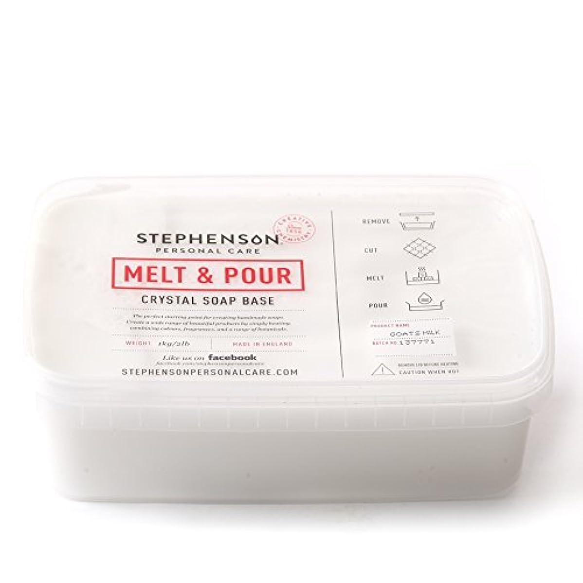 意味のあるマーチャンダイジングつなぐMelt and Pour Soap Base Goat's Milk - 1Kg
